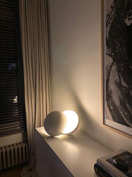 Rosy Brown Table lamp White Earth Marie Michielssen Lighting Serax