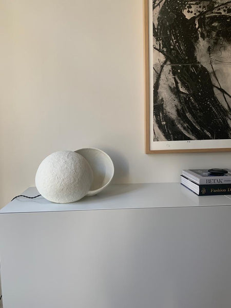 Black Table lamp White Earth Marie Michielssen Lighting Serax