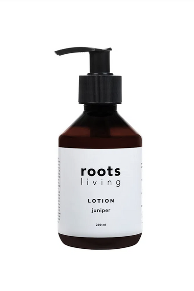 Black Juniper Lotion 200 ml ROOTS LIVING Davanti Home Ideas