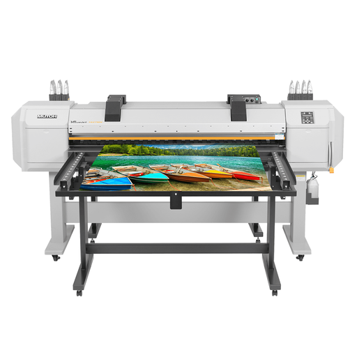 "Mutoh ValueJet 1627MH Hybrid Printer 64"" Includes Ink Starter Kit Front View"
