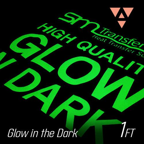 Prisma Glow in the Dark Heat Transfer Vinyl 1 Foot