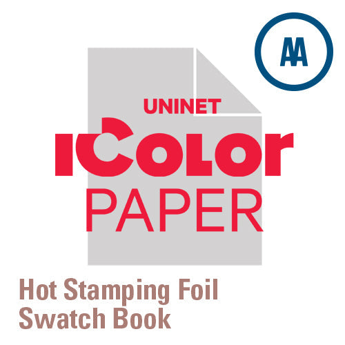 iColor Hot Stamping Foil Swatch Book