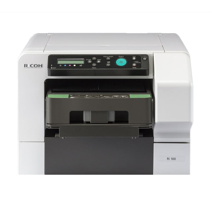 Ricoh Ri 100 Direct to Garment Printer Bundle Front View