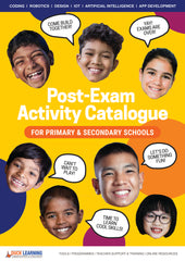 Post Exam Activities Catalogue Front Cover