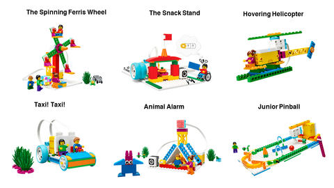 LEGO Education SPIKE Essential Model Examples