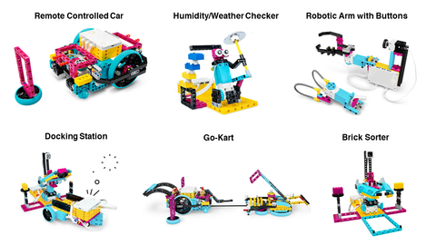 LEGO SPIKE Prime Example Builds