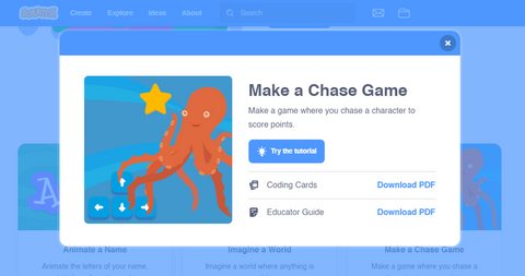 Chase Game on Scratch - Tutorial