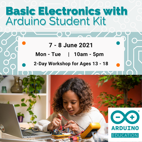 2-Day Workshop: Basic Electronics with Arduino Student Kit