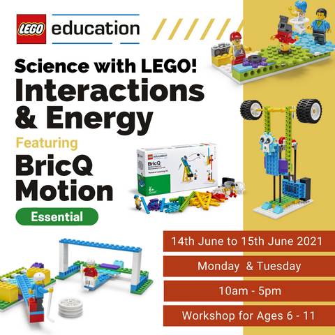 2-Day Workshop: Interactions & Energy - Science with LEGO!