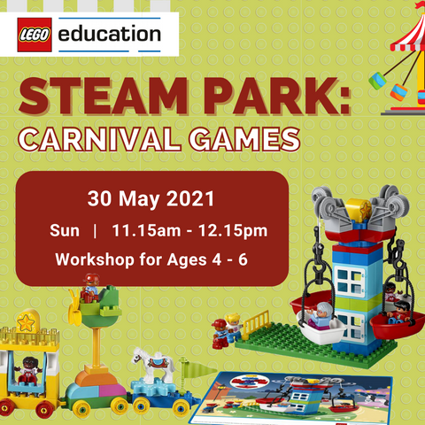 1-Hour Workshop: STEAM Park - Carnival Games