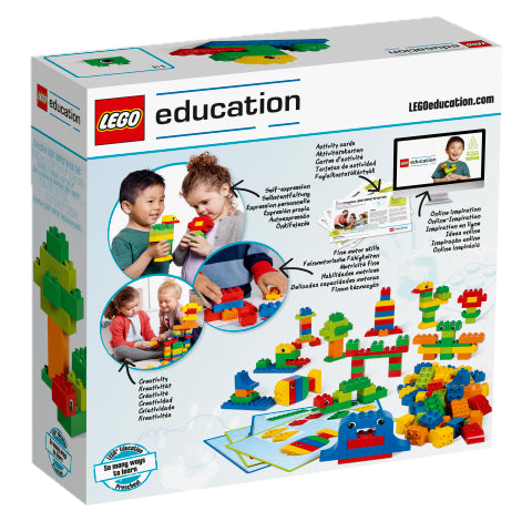 Creative LEGO® DUPLO® Brick Set - World People Set