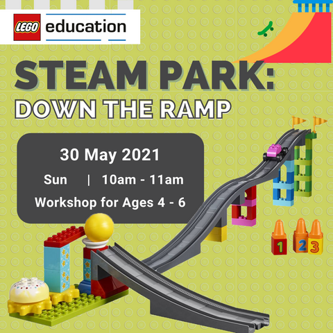 1-Hour Workshop: STEAM Park - Down the Ramp