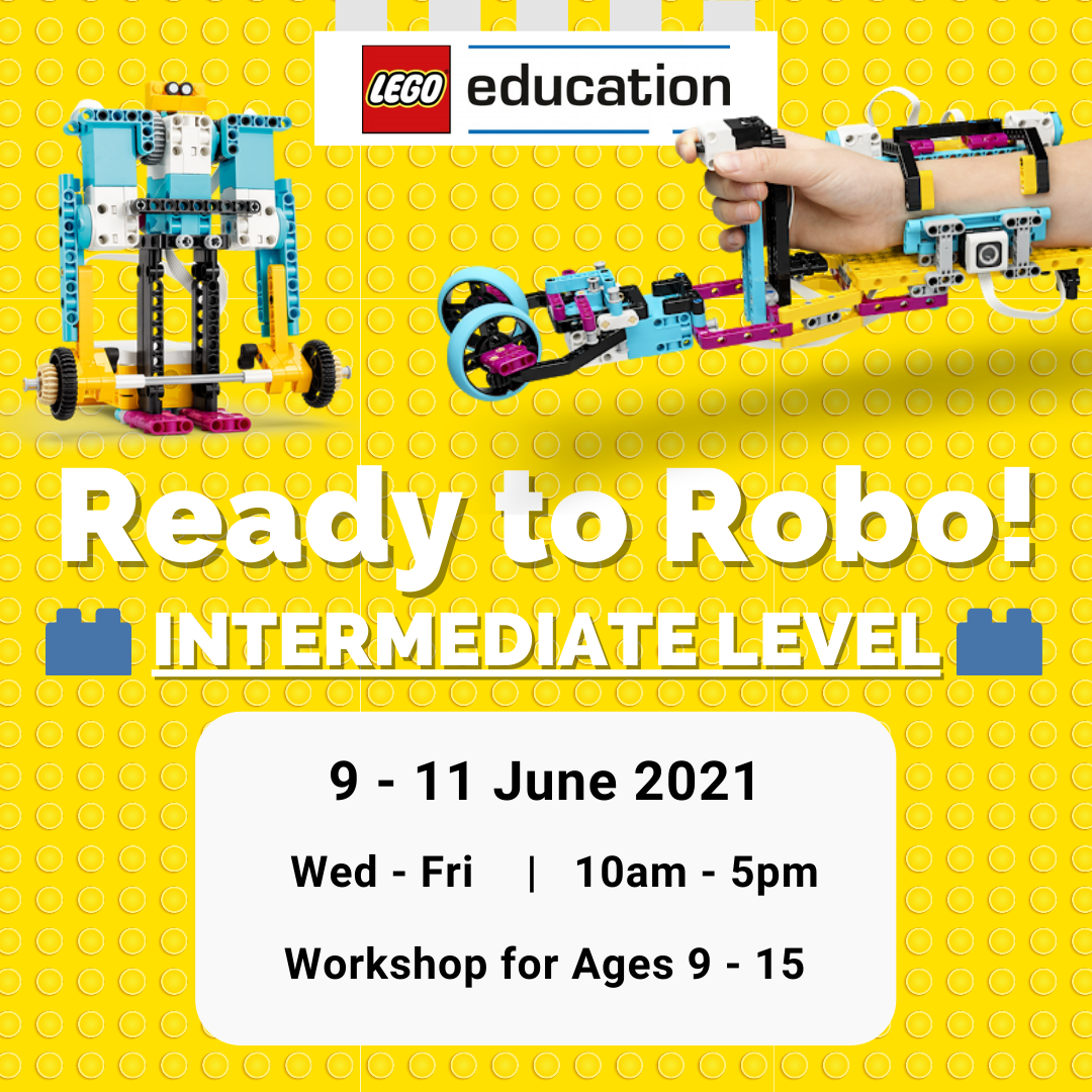 3-Day Workshop: Ready to Robo! with SPIKE Prime (Intermediate)