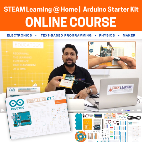 Arduino Starter Kit Online Course (Bundle Available)