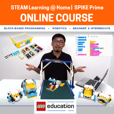 LEGO® Education SPIKE™ Prime Online Course (Product Rental Available)