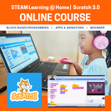 Coding with Scratch 3.0 Beginner Online Course