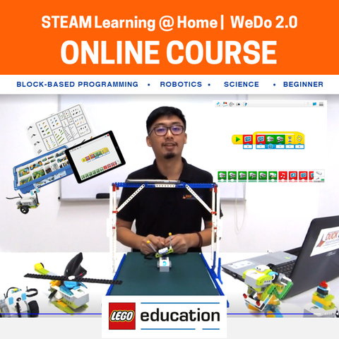 Learn Through Play with LEGO® Education WeDo 2.0 Online Course (Set Rental Available)