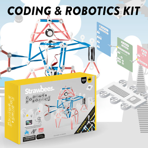 Strawbees Coding and Robotics Kit