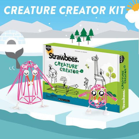 Strawbees Creature Creator Kit (SB043)
