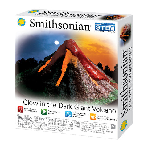 Smithsonian – Glow in the Dark Giant Volcano