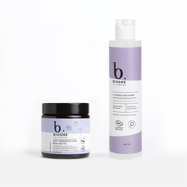 Clean skin duo treatment