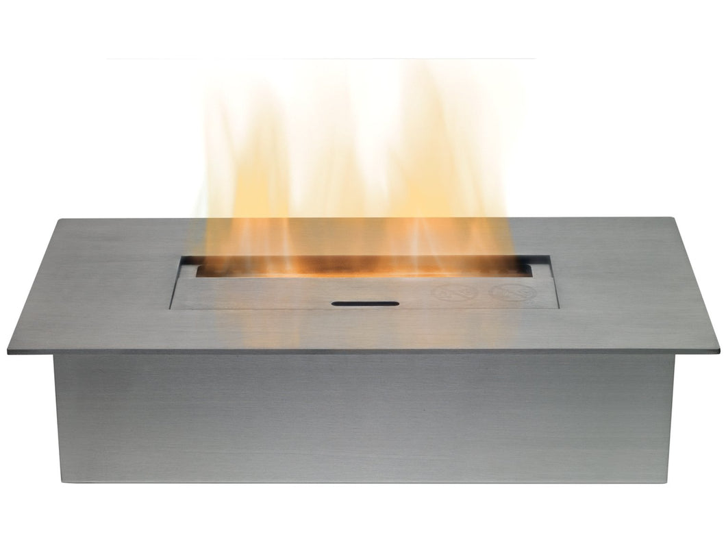 Small Bio Ethanol Burner in Stainless Steel, 1.5 Litre Capacity
