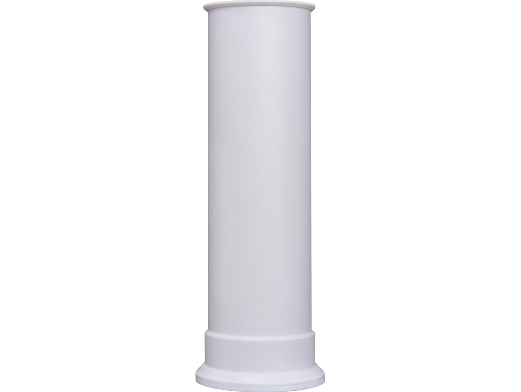 Adam Straight Stove Pipe in White