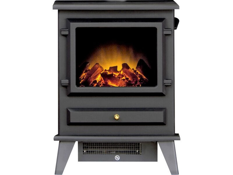 Adam Hudson Electric Stove in Black
