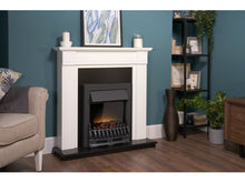 Load image into Gallery viewer, Adam Blenheim Electric Fire Black