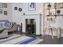 Load image into Gallery viewer, Adam Hudson Electric Stove Black + Straight Stove Pipe