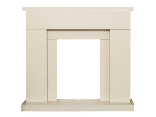 Adam Lomond Fireplace in Stone Effect, 39 Inch