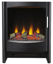 Load image into Gallery viewer, Focal Point Gothenburg Electric Stove in Black - BRAND NEW