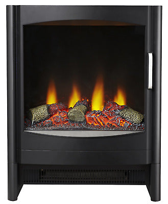 Focal Point Gothenburg Electric Stove in Black - BRAND NEW
