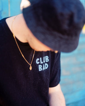 Load image into Gallery viewer, Melé x Club Bad 'Ice Wolfy' Tee - Black