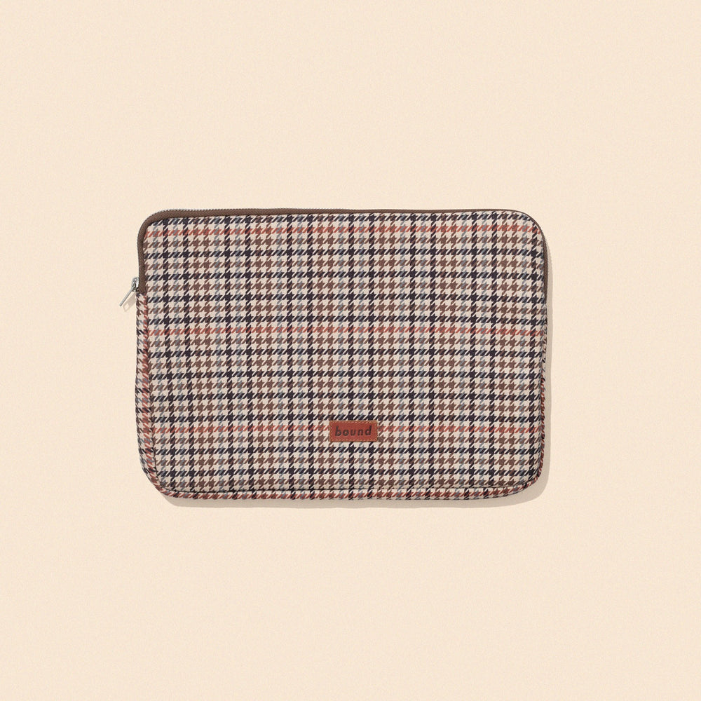 bound 'Classic Dogtooth' 13 Laptop' Sleeve