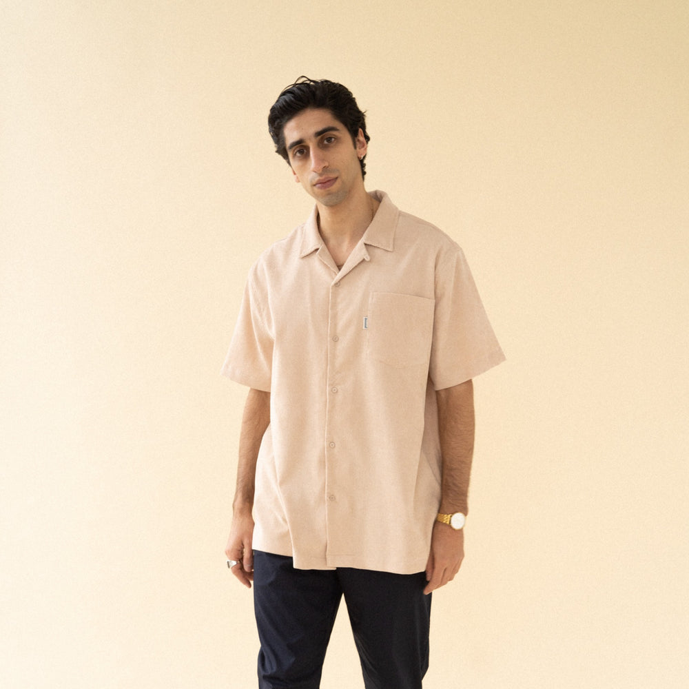 bound 'Nude Cord Towel' SS Shirt