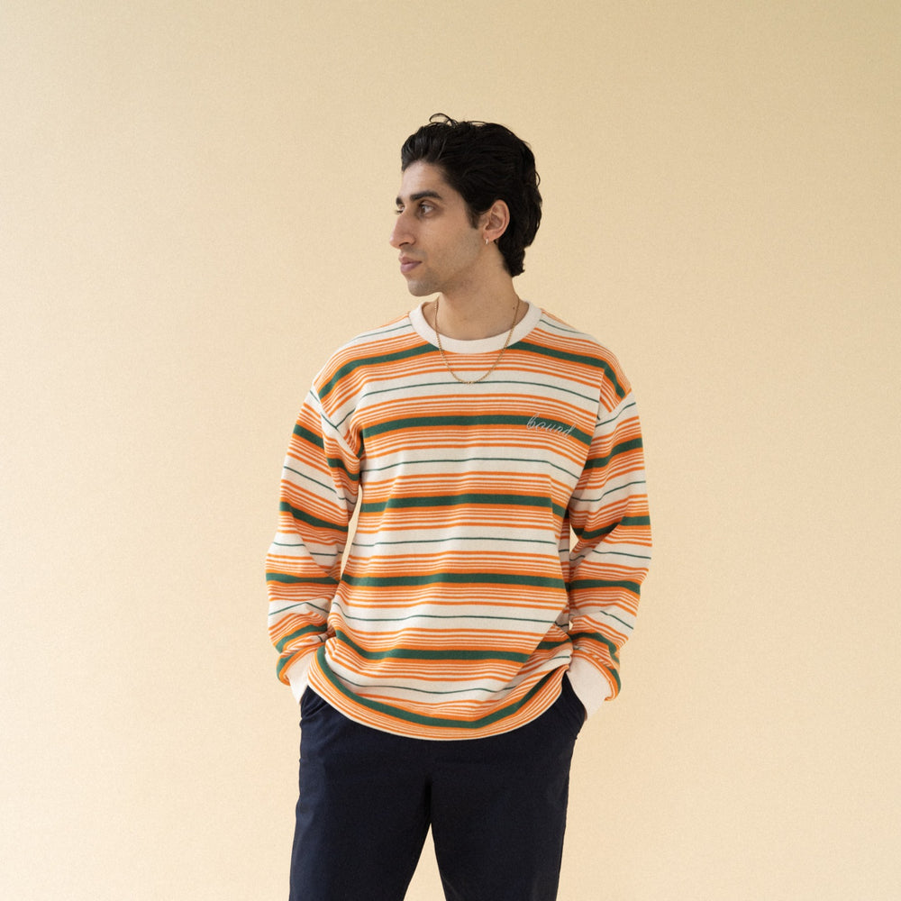 bound 'Seville' Stripe Knit Sweater