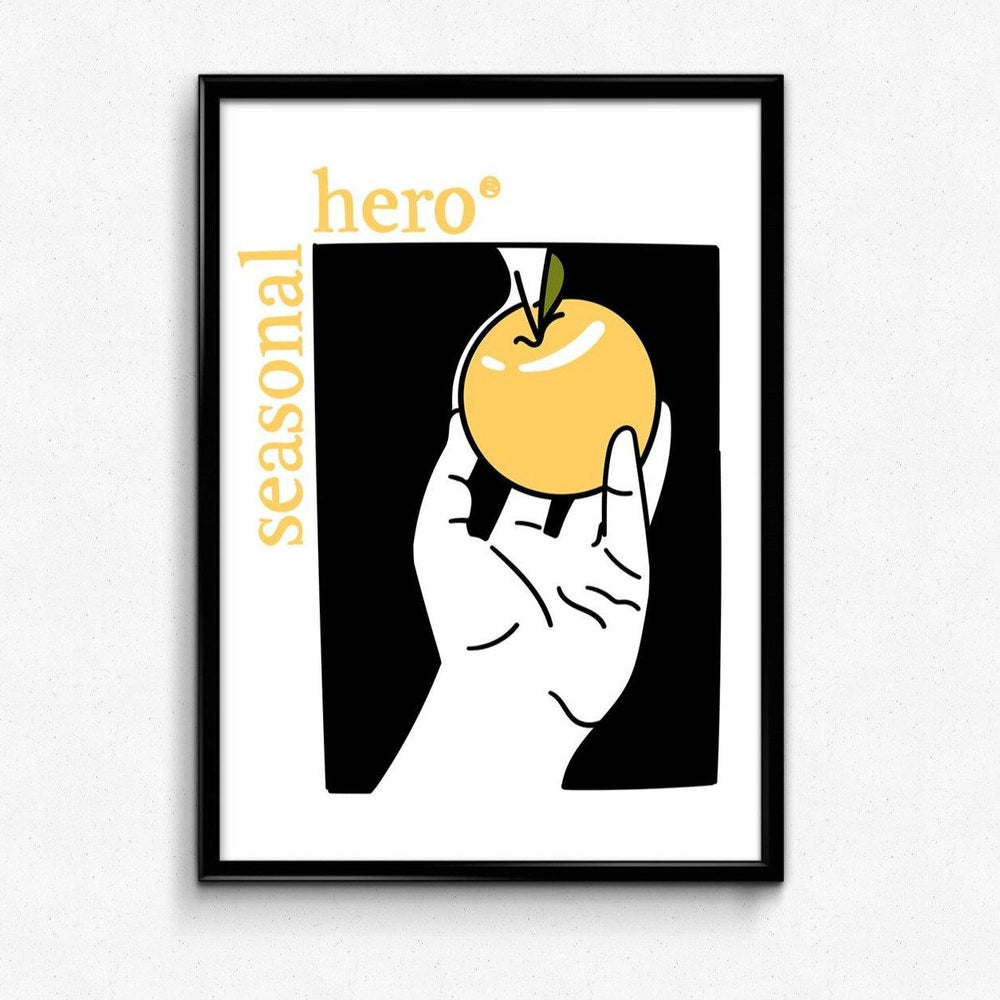 SEASONAL HERO FORBIDDEN FRUIT PRINT - UN:IK Clothing