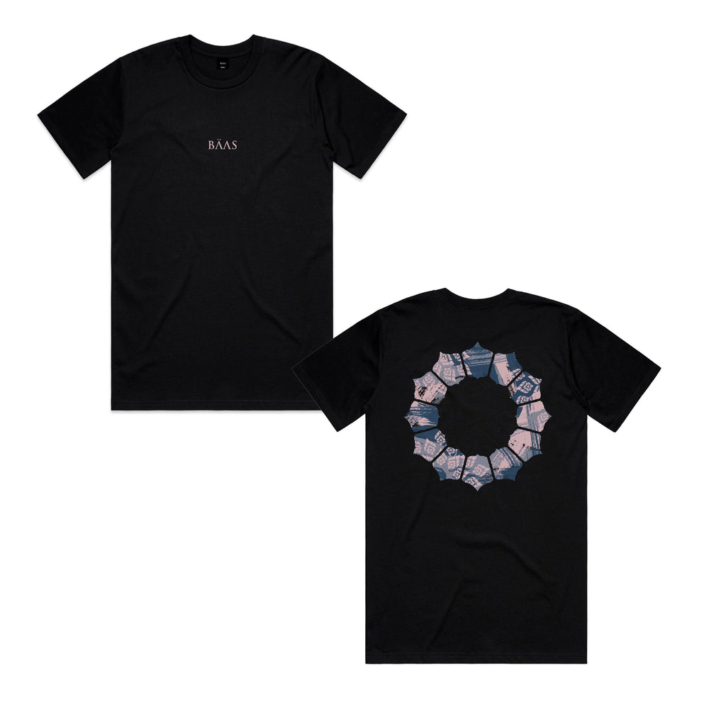 Load image into Gallery viewer, BÄAS 'Aperture' Tee - Black - UN:IK Clothing