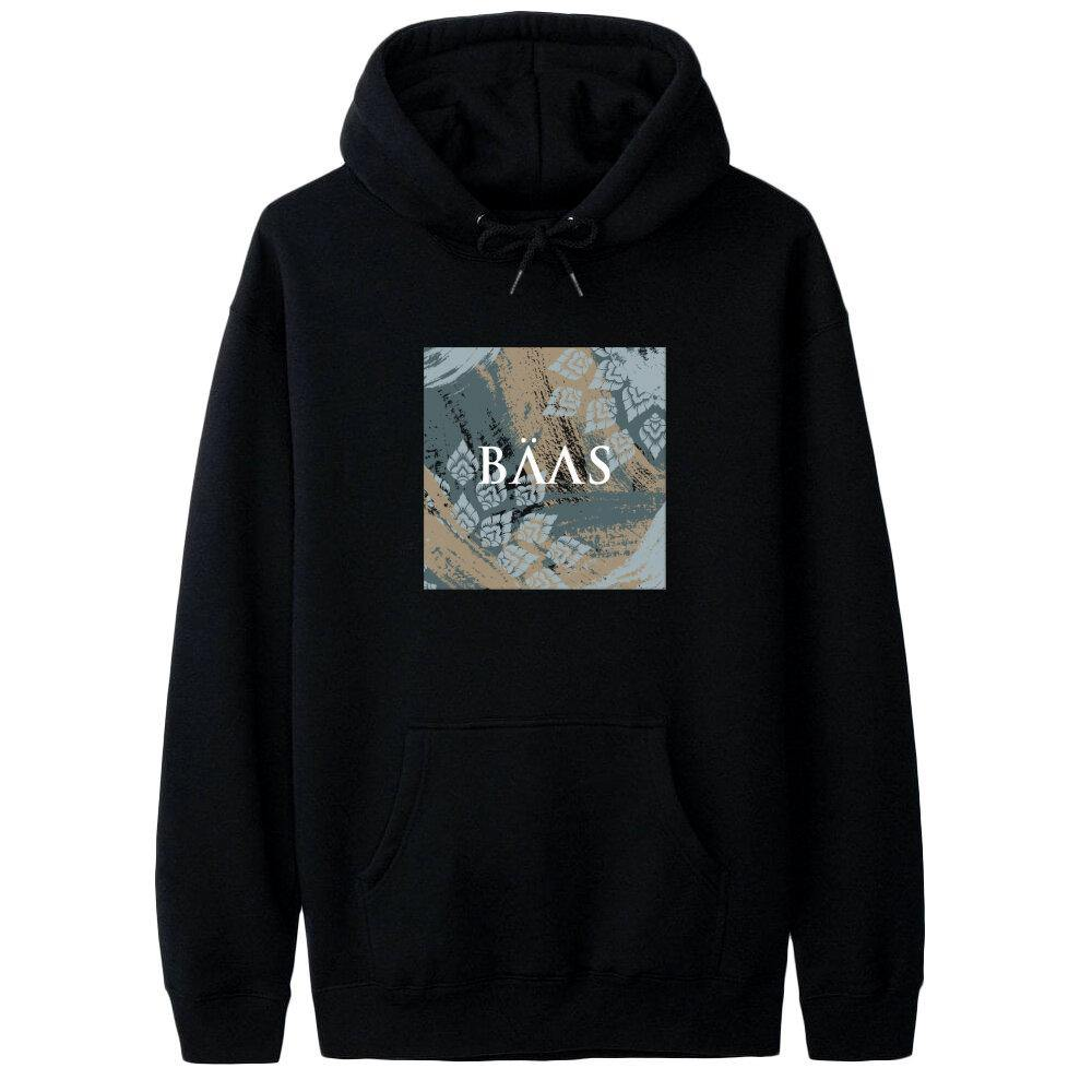 Load image into Gallery viewer, BÄAS Box Hoodie - Black - UN:IK Clothing