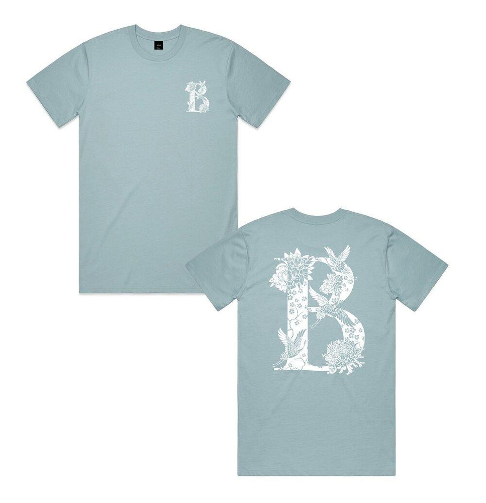 BÄAS 'Tsuru' Tee - Light Blue - UN:IK Clothing