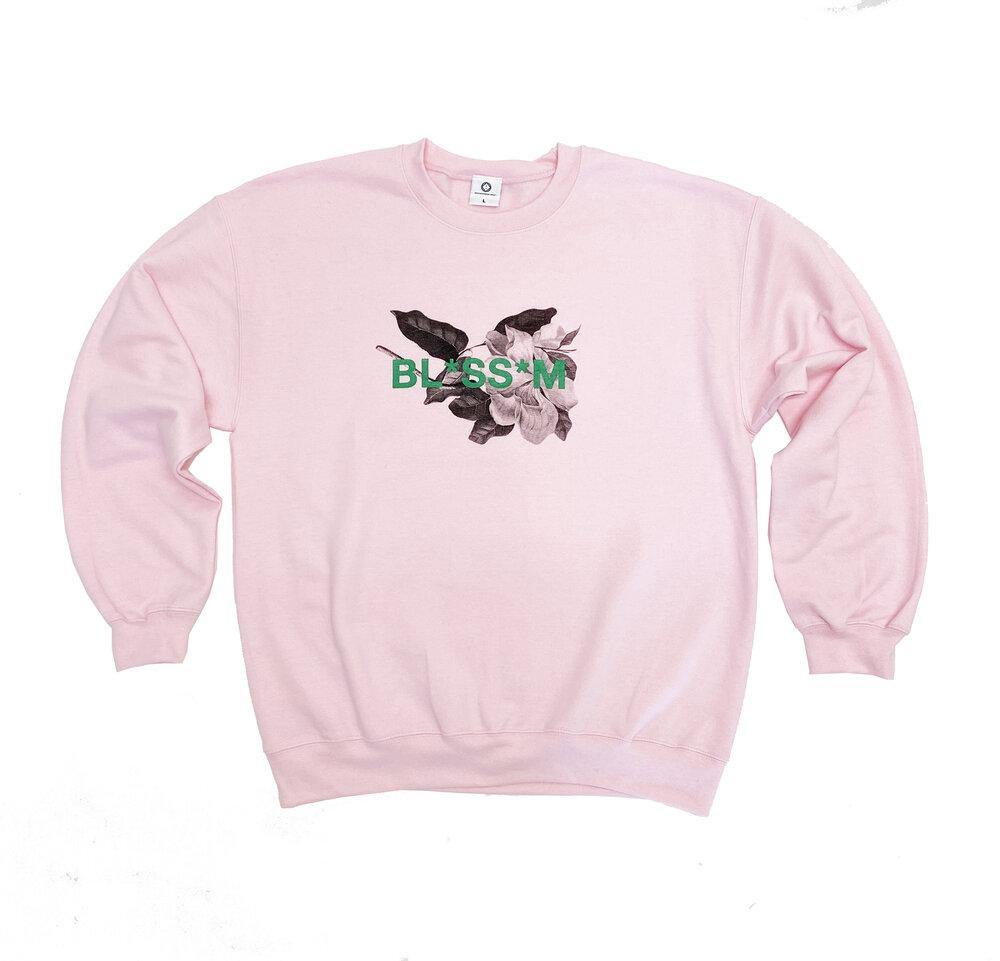 Colour Collective 'Blossom' Sweater - Light Pink - UN:IK Clothing