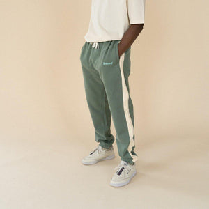 bound 'SAGE STRIPE' Joggers - UN:IK Clothing