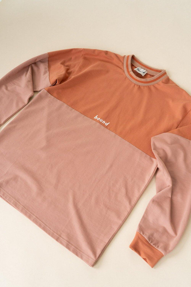 bound 'CLAY SPLIT' Longsleeve Tee - UN:IK Clothing