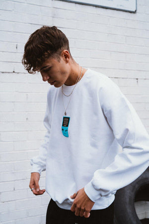 Vice 84 Gameboy Styles - White - UN:IK Clothing