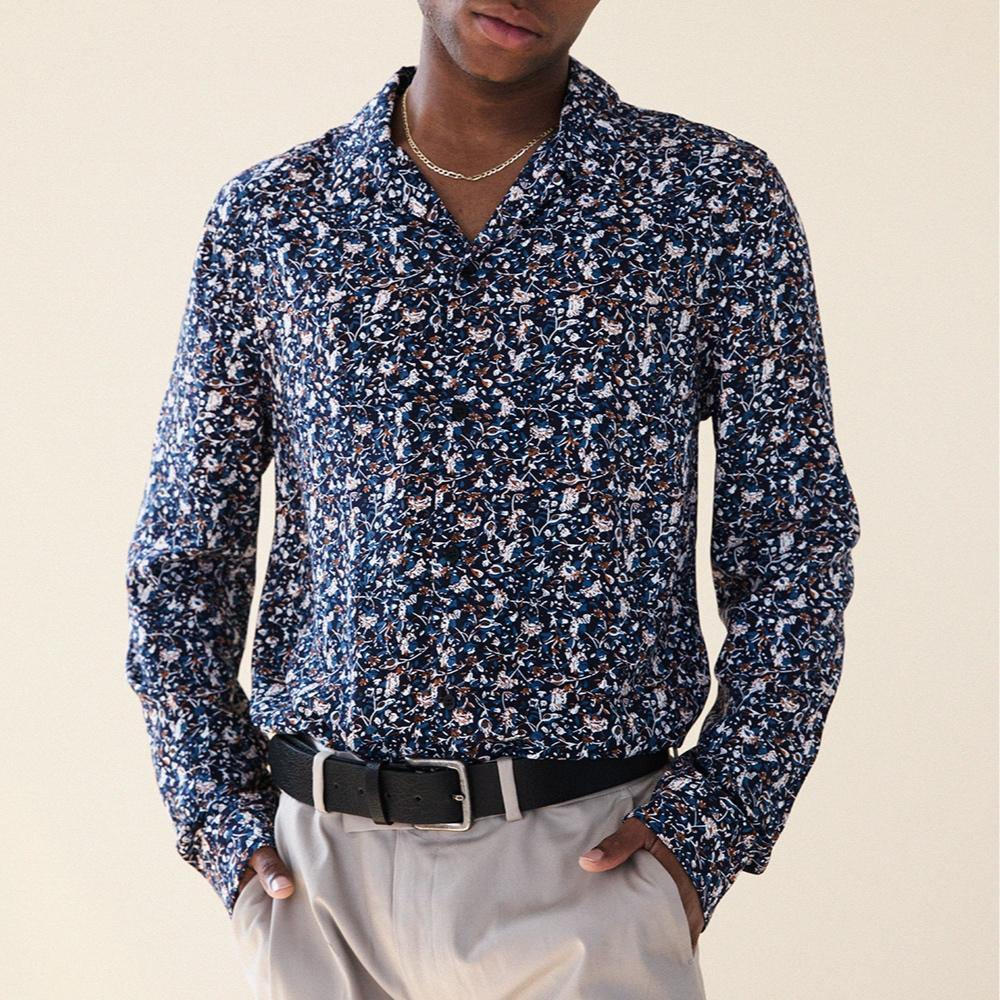 bound 'Larkspur' LS Shirt - UN:IK Clothing