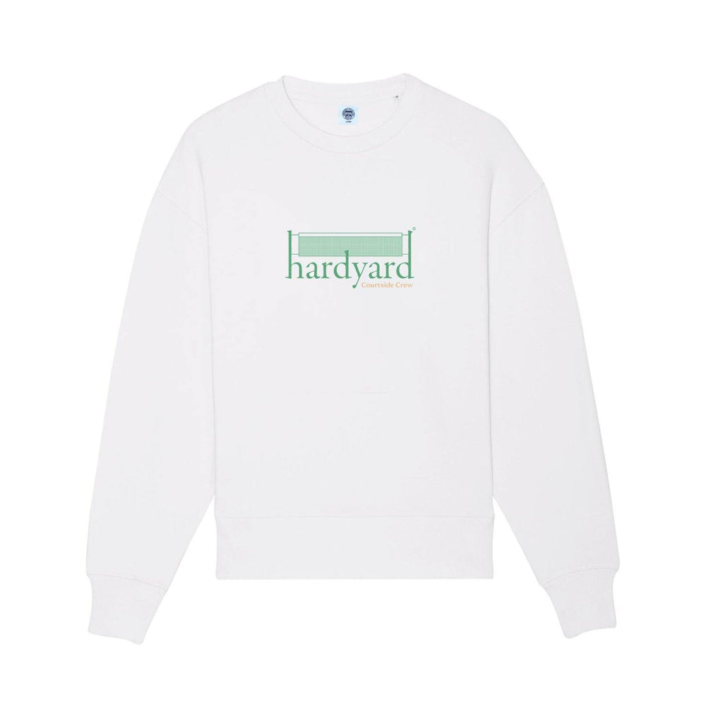 Vice 84 'Hardyard Court Crew' Sweater - White - UN:IK Clothing