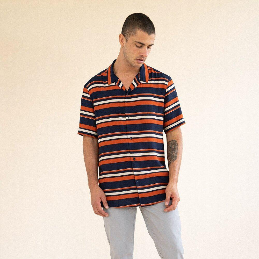 Load image into Gallery viewer, bound 'JOSE' SS RAYON SHIRT - UN:IK Clothing
