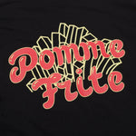 Pomme Frite 'Deep Fried' Longsleeve - Black - UN:IK Clothing