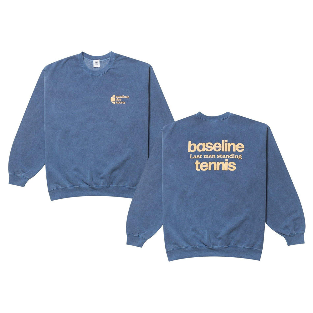 Vice 84 'Baseline' Sweater - Washed Navy - UN:IK Clothing